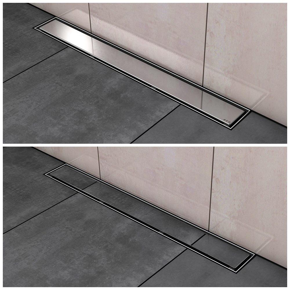 aco showerdrain design rost twist 80 cm megabad. Black Bedroom Furniture Sets. Home Design Ideas