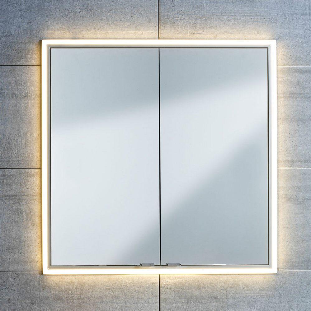 Sprinz Einbauabdeckrahmen 80 cm mit LED Beleuchtung LL0800   MEGABAD