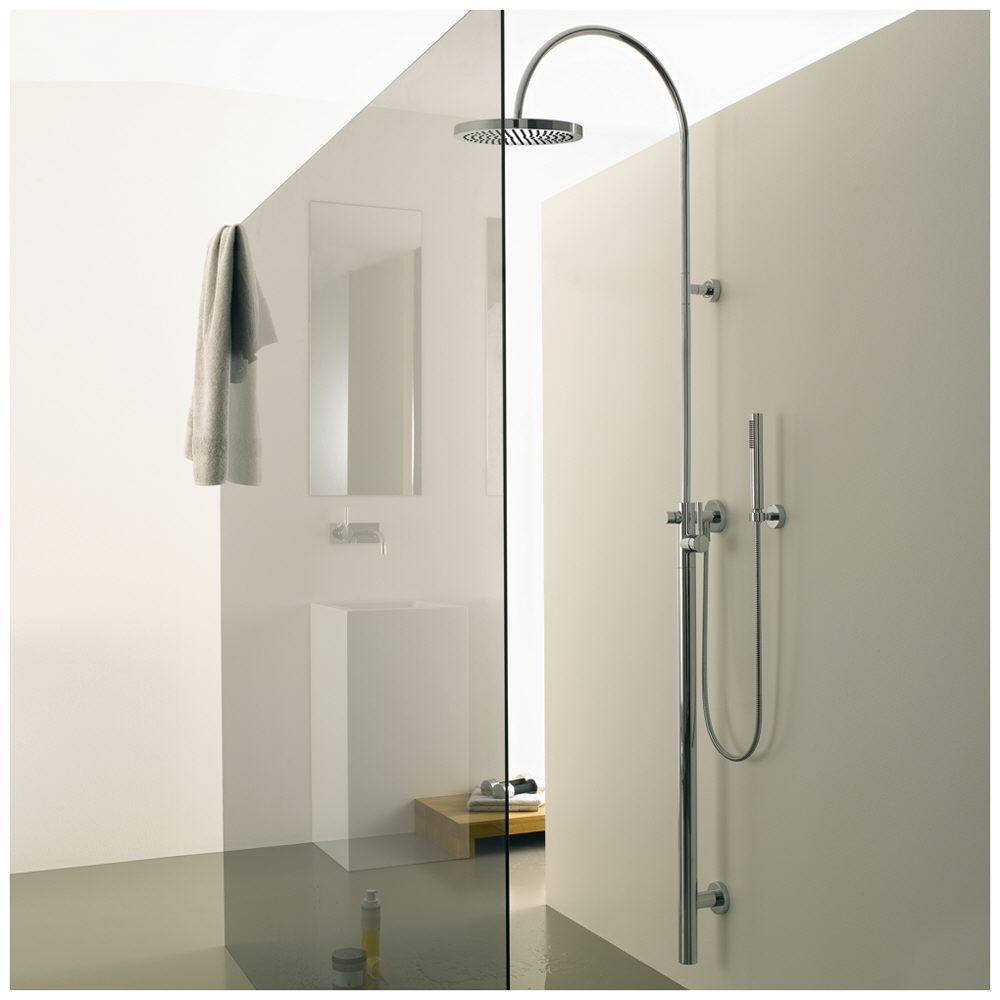 dornbracht tara logic duschstele mit brausebatterie 26023885 00 megabad. Black Bedroom Furniture Sets. Home Design Ideas