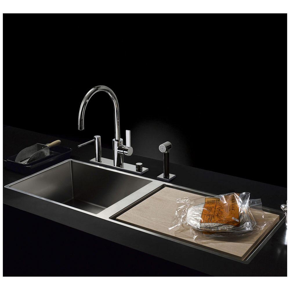 dornbracht water units einzelbecken 111 x 40 5 cm 38401000 86 megabad. Black Bedroom Furniture Sets. Home Design Ideas