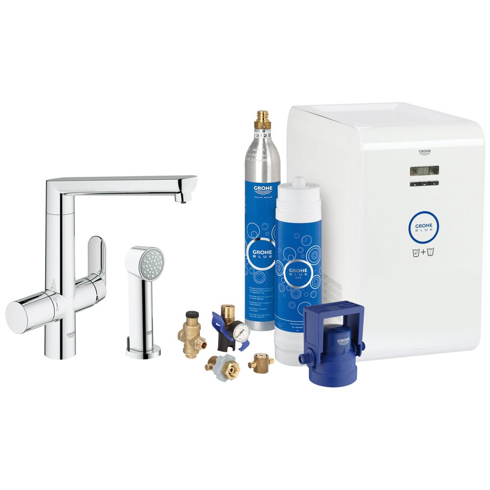 grohe blue k7 starter kit 31355001 megabad. Black Bedroom Furniture Sets. Home Design Ideas