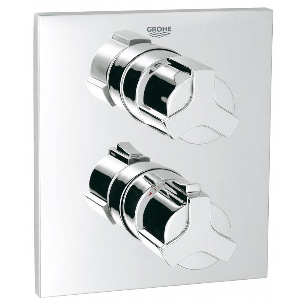 grohe allure up thermostat wannenbatterie 19446000 megabad. Black Bedroom Furniture Sets. Home Design Ideas