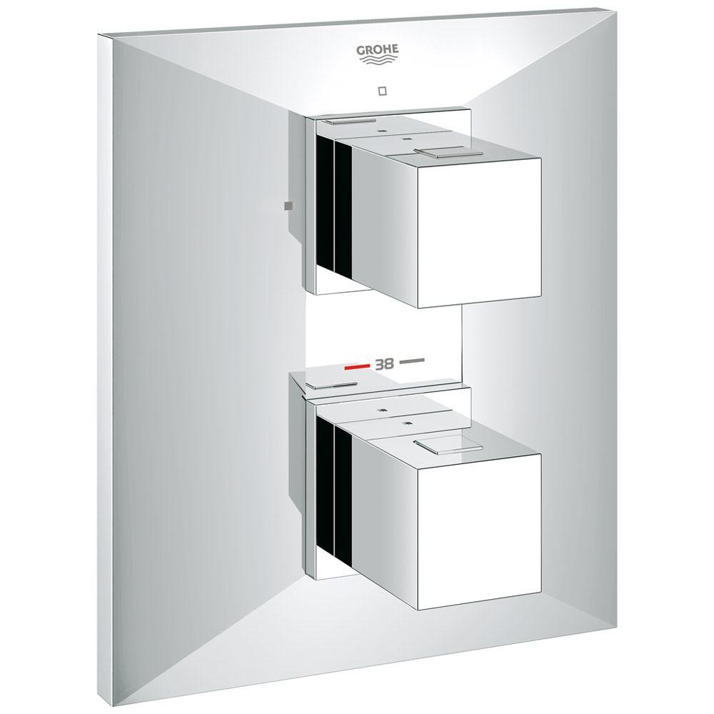 grohe allure brilliant up thermostat brausebatterie megabad. Black Bedroom Furniture Sets. Home Design Ideas