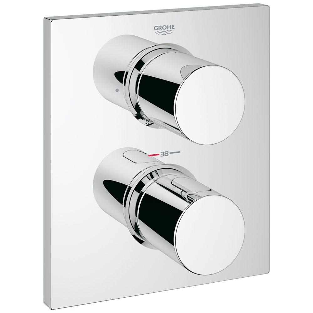 Großartig Grohe Grohtherm F Thermostat Fertigmontageset mit integrierter 2  JD26