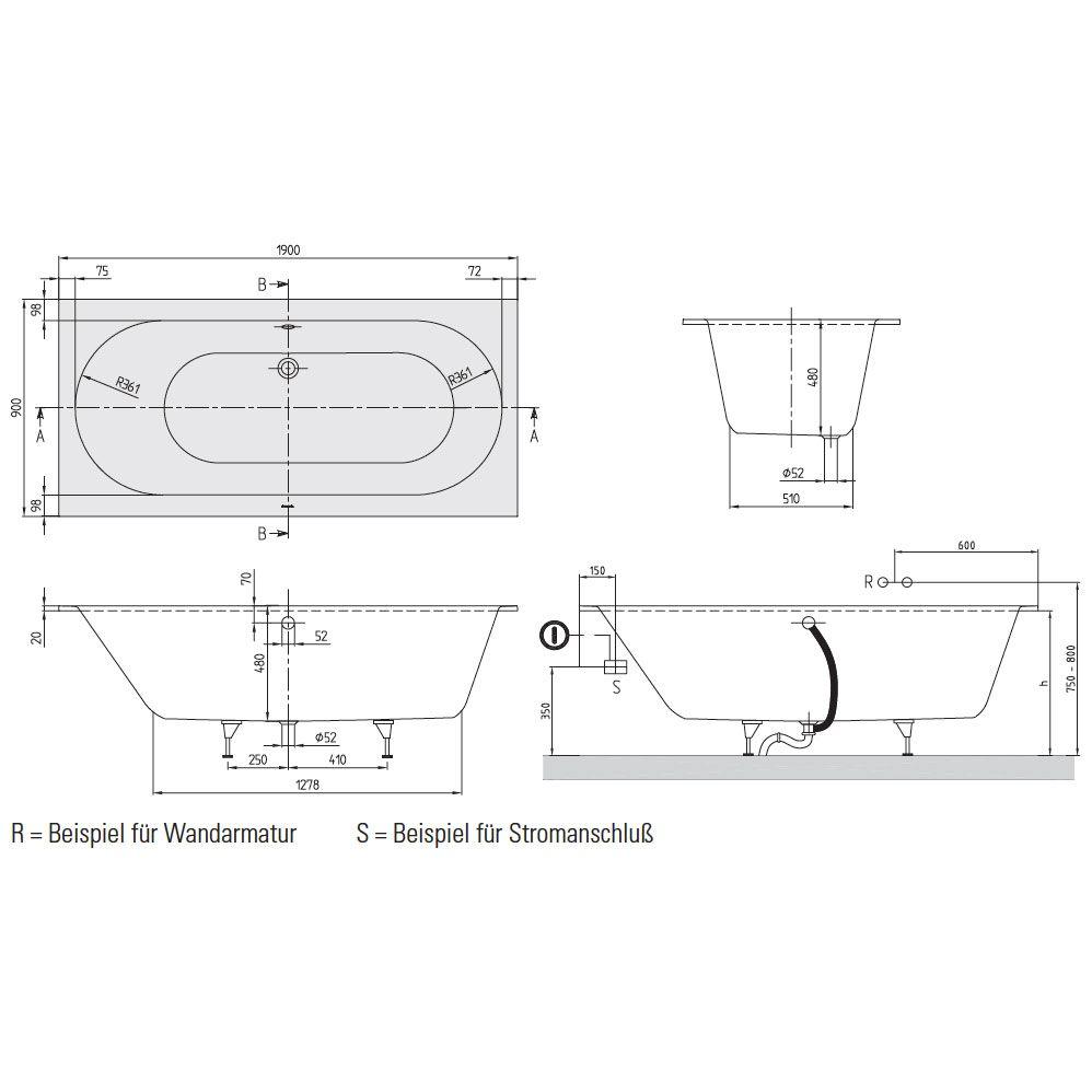 whirlpool badewanne villeroy und boch alle bilder von. Black Bedroom Furniture Sets. Home Design Ideas