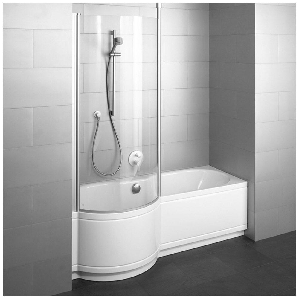 Duschbadewanne 160  Bette Cora Comfort für Nischen 160 x 90 x 42 cm Duschzone links ...