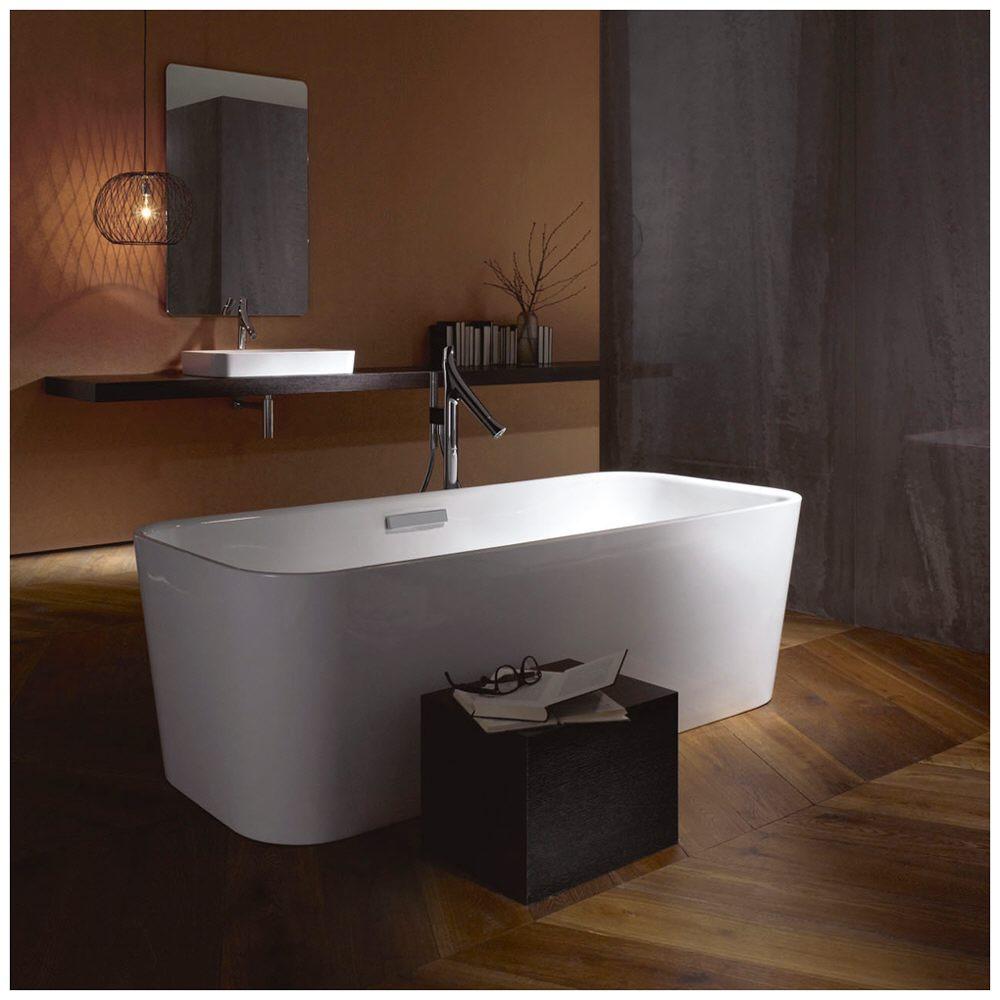 bette art freistehende badewanne mit ab berlaufgarnitur megabad. Black Bedroom Furniture Sets. Home Design Ideas