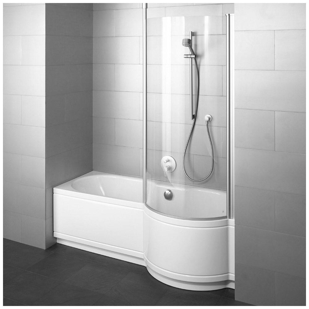 Bette Cora Comfort für Nische, 180 x 90 x 42 cm Duschzone rechts ... | {Badewanne mit duschzone 180 30}