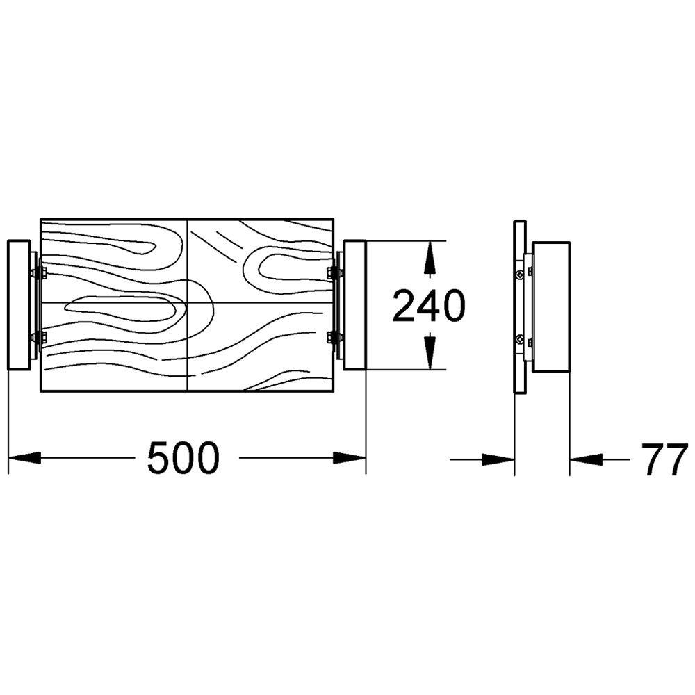 grohe rapid sl armaturenhalterung f r unterputz armaturen und rauml fter 38652000 megabad. Black Bedroom Furniture Sets. Home Design Ideas