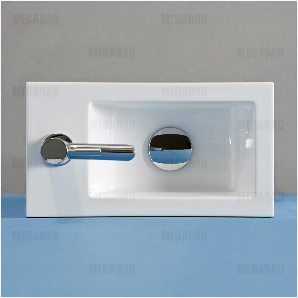 classic 100 m belkombination f r kleine g ste wc clv390w megabad. Black Bedroom Furniture Sets. Home Design Ideas