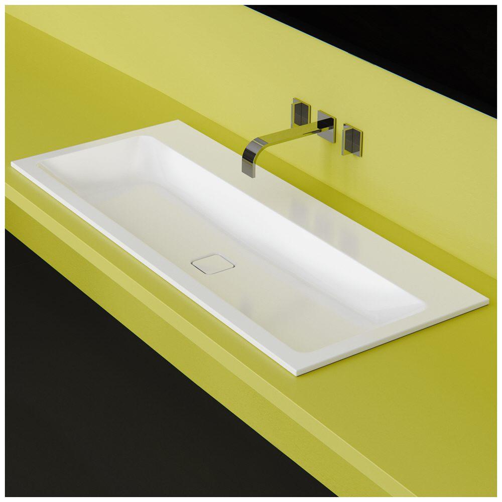 kaldewei cono einbauwaschtisch 3080 ohne hahnlochbohrung 60 cm 901606003001 megabad. Black Bedroom Furniture Sets. Home Design Ideas