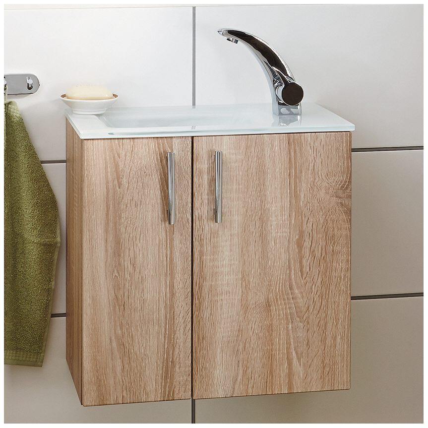 puris for guests m belkombination mit glaswaschtisch 50 cm setfg5002f722k16129039 megabad. Black Bedroom Furniture Sets. Home Design Ideas