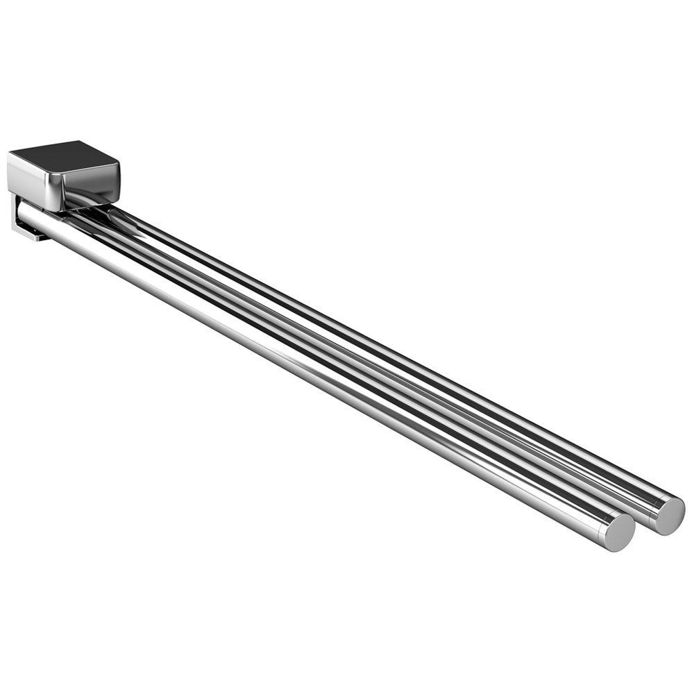Emco Trend Handtuchhalter 2 armig schwenkbar 45 cm