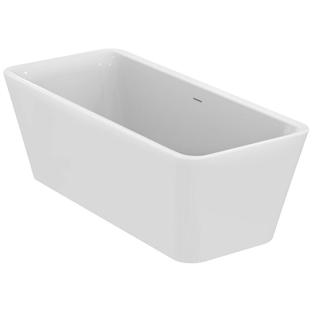 ideal standard tonic ii freistehende k rperform badewanne. Black Bedroom Furniture Sets. Home Design Ideas