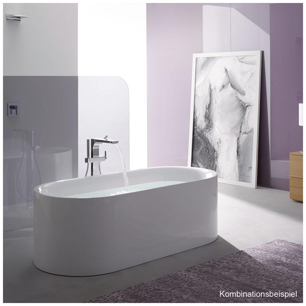 Erstaunlich Bette LUX Oval Silhouette freistehende Badewanne 170 x 75 cm 3465  AJ72