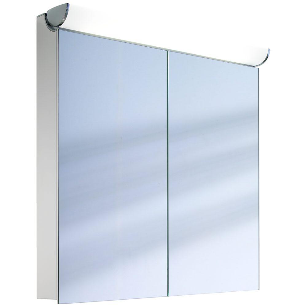 schneider faceline spiegelschrank 70 2 fl megabad. Black Bedroom Furniture Sets. Home Design Ideas