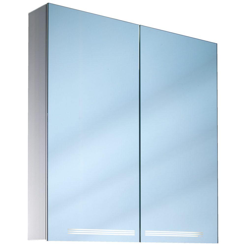 Super Spiegelschrank mit Beleuchtung - MEGABAD IJ21