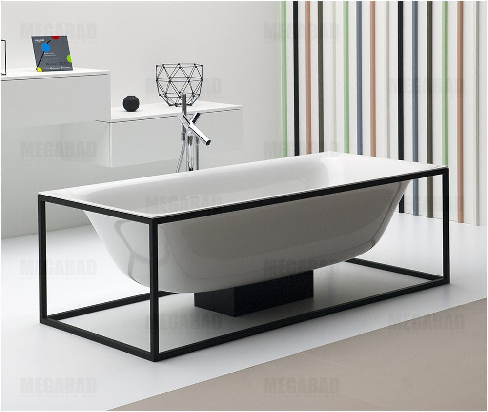 bette lux shape freistehende badewanne 180 x 80 cm 3452 000 megabad. Black Bedroom Furniture Sets. Home Design Ideas
