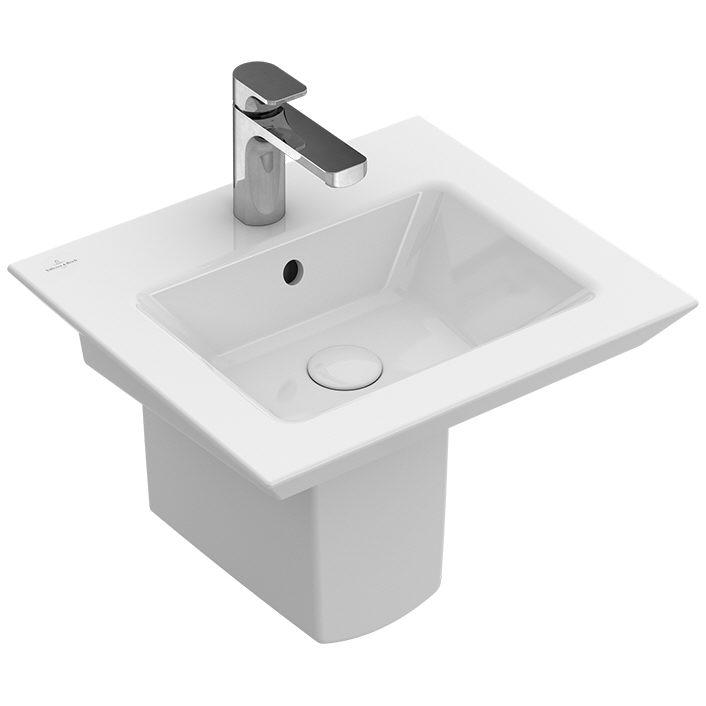 villeroy boch legato handwaschbecken 50 cm 43515101. Black Bedroom Furniture Sets. Home Design Ideas