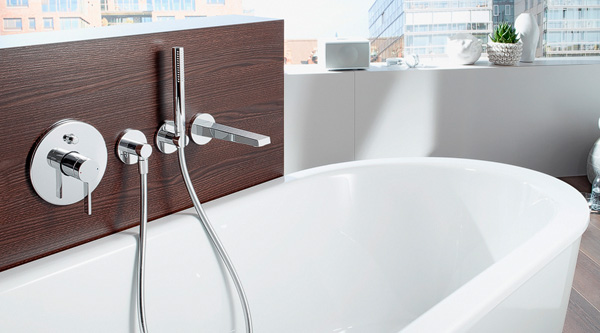 Wandarmaturen bad grohe  Hansa Armaturen für Küche, Bad und Wellness - MEGABAD