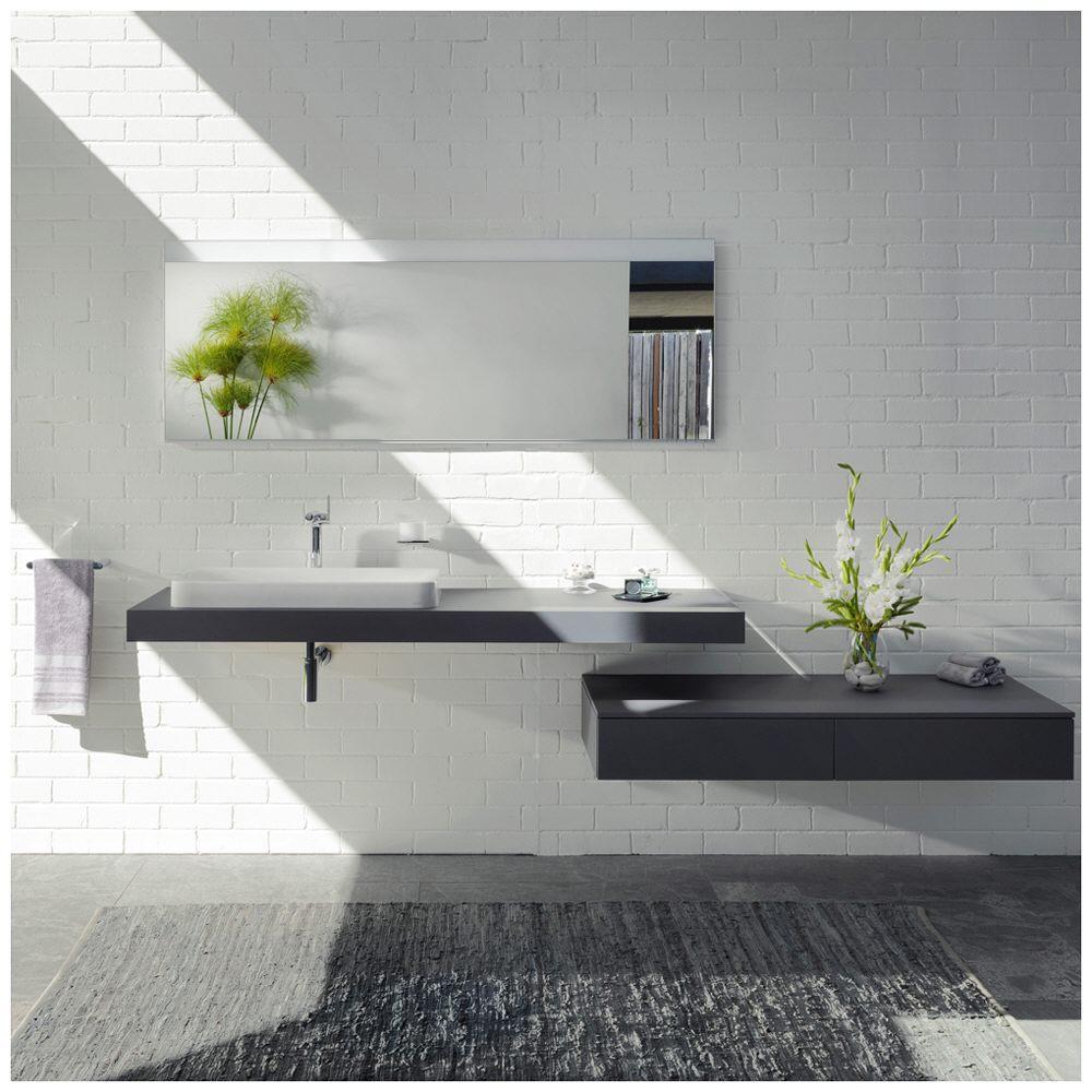keuco edition 400 lichtspiegel 141 cm 11597172500 megabad. Black Bedroom Furniture Sets. Home Design Ideas