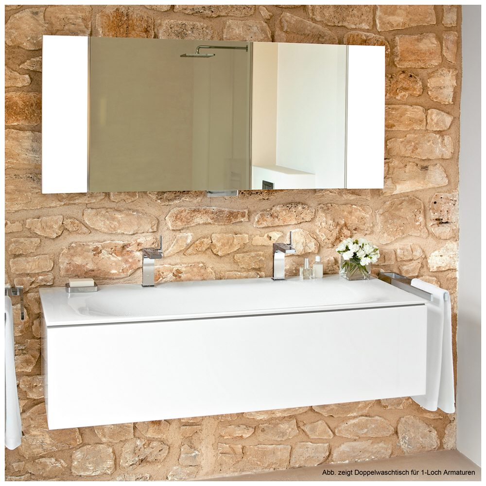 keuco edition 11 keramik doppelwaschtisch 31160311406. Black Bedroom Furniture Sets. Home Design Ideas