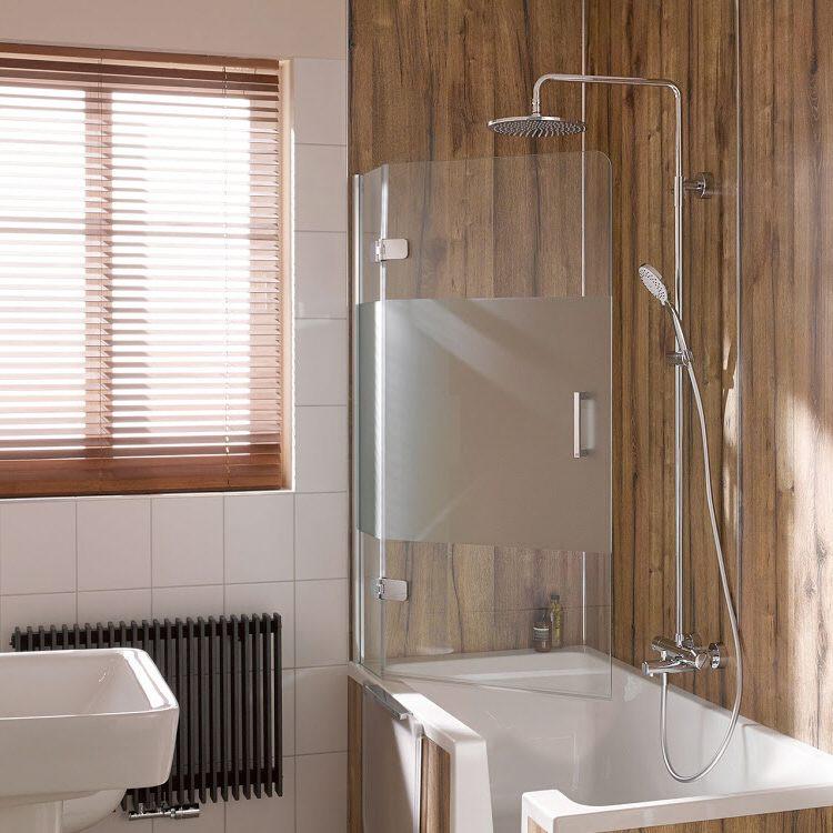 hsk premium softcube badewannenaufsatz pendelbar 2 teilig. Black Bedroom Furniture Sets. Home Design Ideas