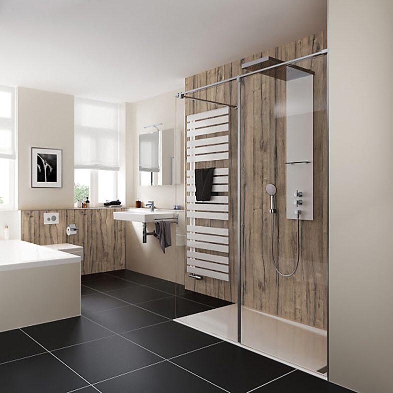 hsk walk in pro concept frontelement 2 teilig 160 cm anschlag rechts 1735160 41 50 rechts megabad. Black Bedroom Furniture Sets. Home Design Ideas