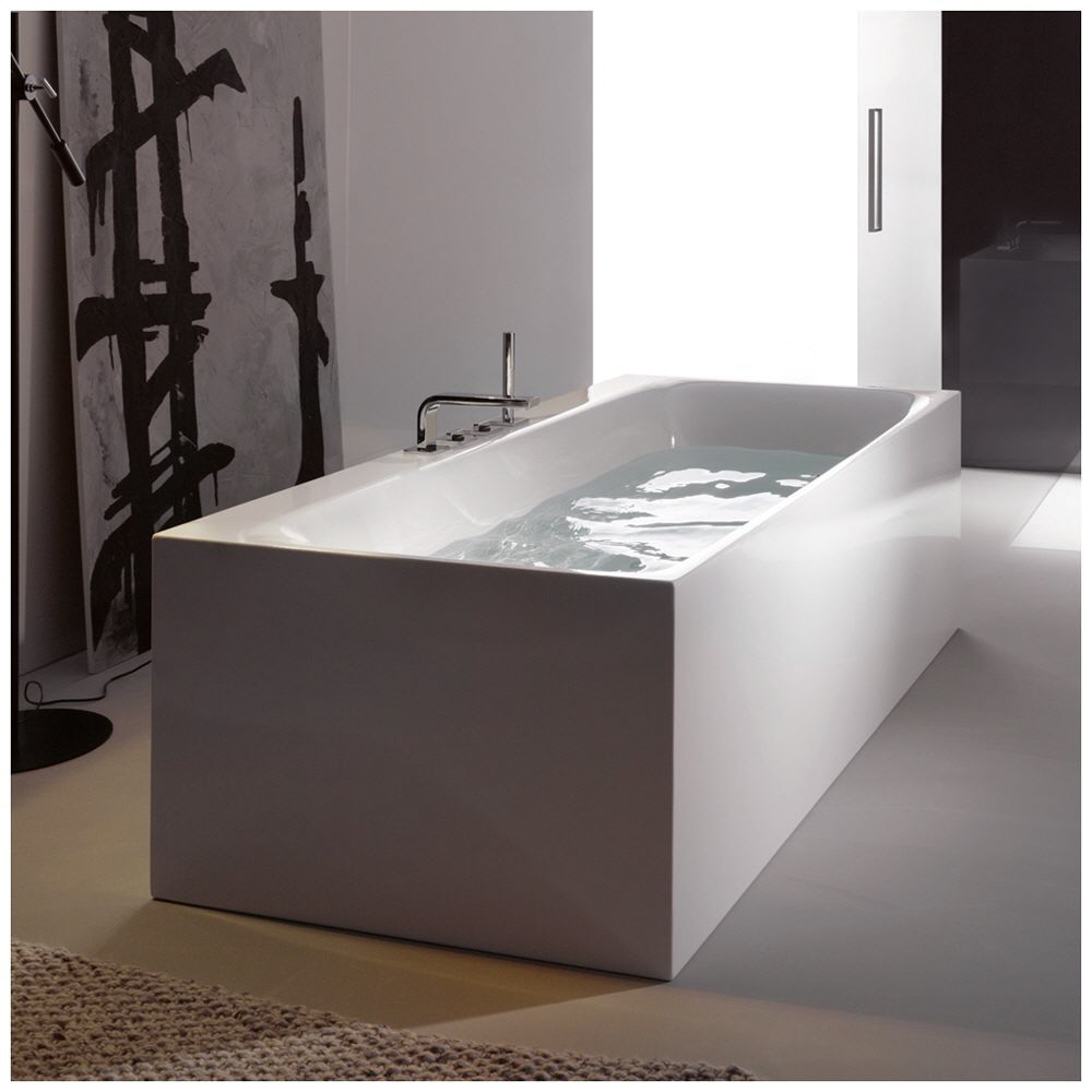 bette lux silhouette side freistehende badewanne 170 x 85 cm mit armaturenbohrung 3460 000cfxvs. Black Bedroom Furniture Sets. Home Design Ideas