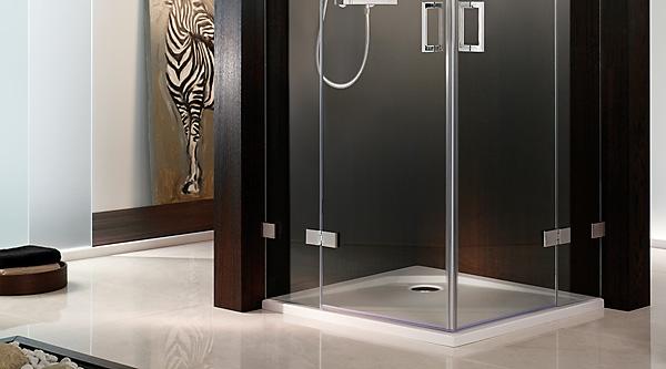 hsk atelier pur duschabtrennugen t r mit seitenwand megabad. Black Bedroom Furniture Sets. Home Design Ideas