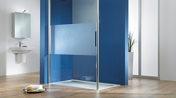 hsk walk in easy comfort duschkabinen megabad. Black Bedroom Furniture Sets. Home Design Ideas