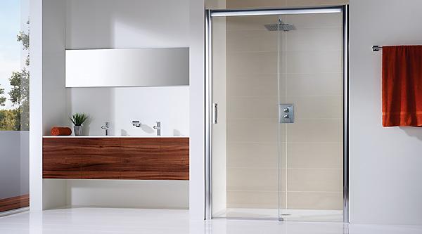hsk duschkabinen solida gleitt ren in nische megabad. Black Bedroom Furniture Sets. Home Design Ideas