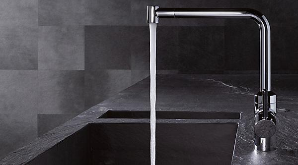 l ine k chenarmaturen von kludi megabad. Black Bedroom Furniture Sets. Home Design Ideas