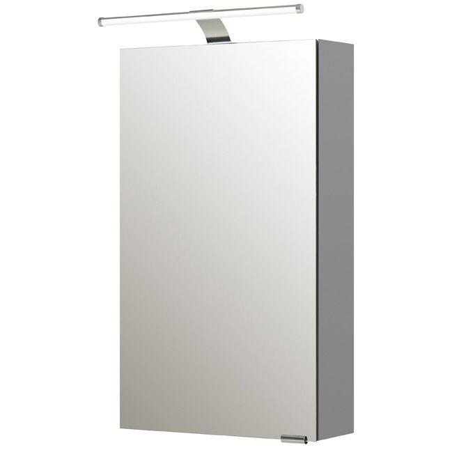 Pelipal S5 Spiegelschrank 40 x 70 cm mit LED Leuchtentyp I und