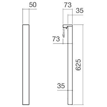 alape leuchte le 2 f r spiegel sp 2 1 st ck megabad. Black Bedroom Furniture Sets. Home Design Ideas