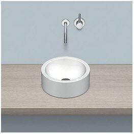 alape aufsatzbecken ab k400 2 kreisf rmig mit 40 cm. Black Bedroom Furniture Sets. Home Design Ideas