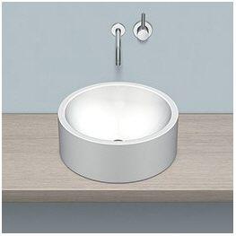 alape aufsatzbecken ab k450 2 kreisf rmig mit 45 cm. Black Bedroom Furniture Sets. Home Design Ideas
