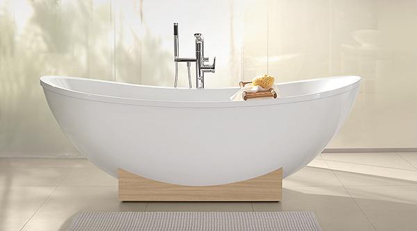 Freistehende badewanne villeroy boch