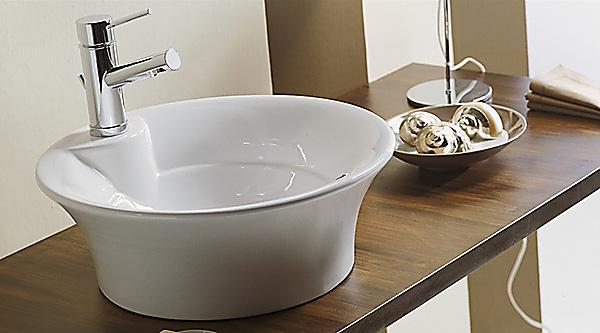 Runder waschtisch fabulous waschbecken with runder for Schmaler waschtisch