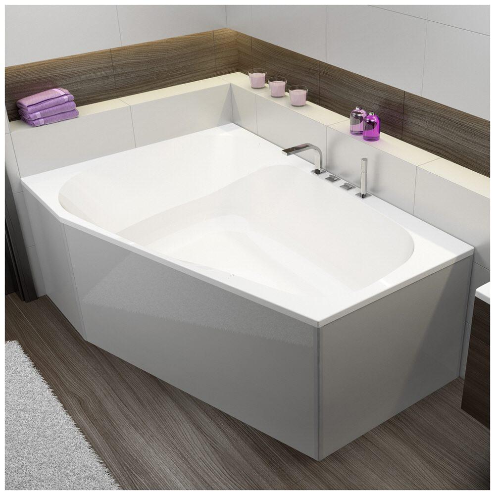 hoesch spectra trapez badewanne 180 x 120 cm linke. Black Bedroom Furniture Sets. Home Design Ideas