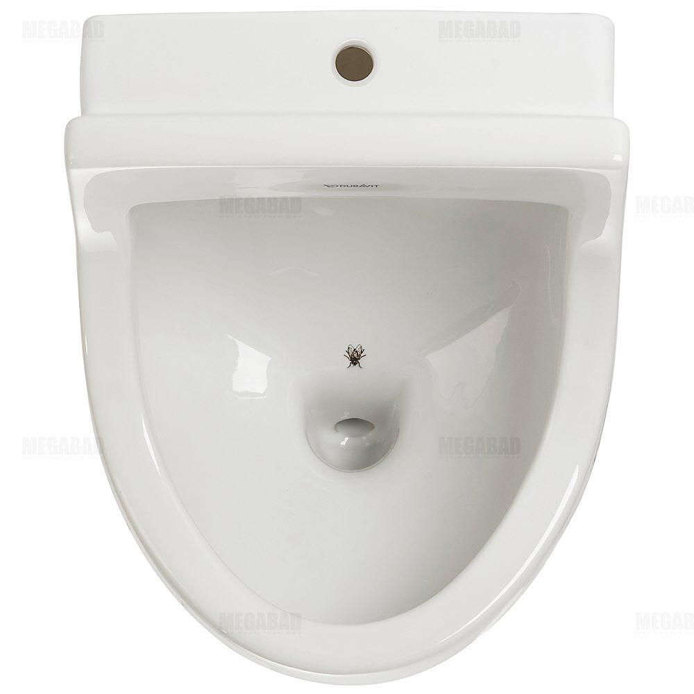 Duravit Starck 3 Urinal 082235 Zulauf Oben Mit Fliege