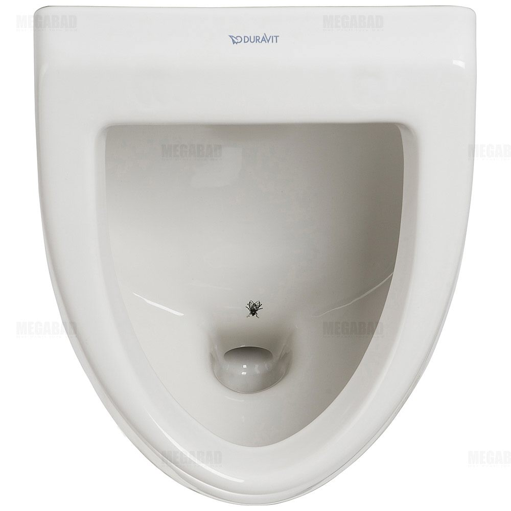 duravit urinal fizz ausf hrung ohne deckel mit fliege 0823360007 megabad. Black Bedroom Furniture Sets. Home Design Ideas