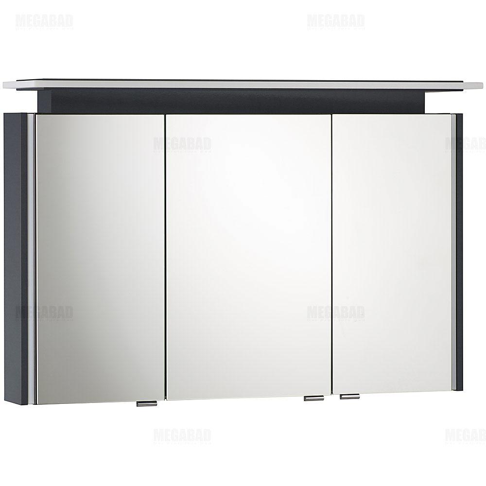 architekt 100 led a spiegelschrank 105 cm megabad. Black Bedroom Furniture Sets. Home Design Ideas