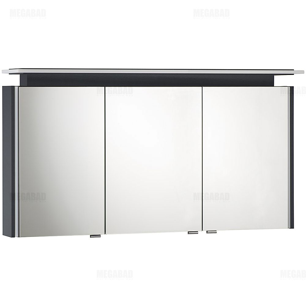architekt 100 led a spiegelschrank 130 cm megabad. Black Bedroom Furniture Sets. Home Design Ideas