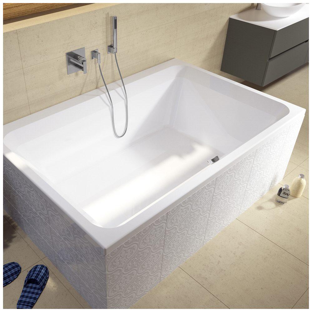 riho castello bb77 rechteckbadewanne 180 x 120 cm megabad. Black Bedroom Furniture Sets. Home Design Ideas