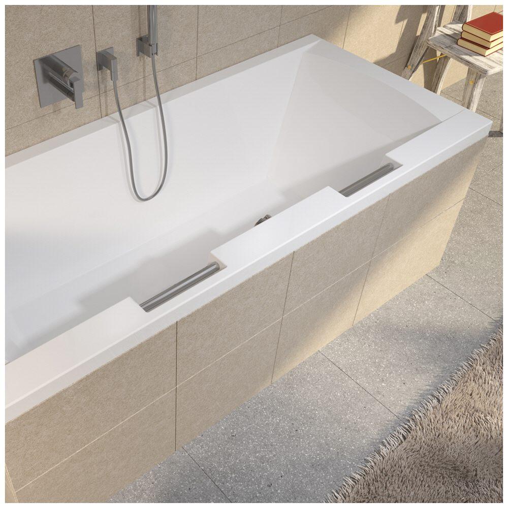 riho modena rechteck badewanne 180 x 80 cm ba79 megabad. Black Bedroom Furniture Sets. Home Design Ideas