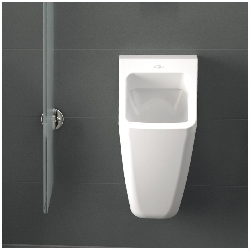 villeroy boch architectura absaug urinal mit zielobjekt 55870501 megabad. Black Bedroom Furniture Sets. Home Design Ideas