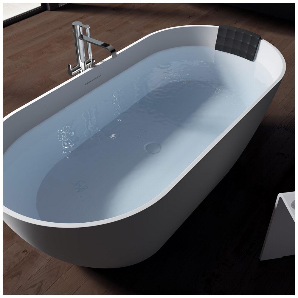 riho bilbao freistehende badewanne 170 x 80 cm bs10 megabad. Black Bedroom Furniture Sets. Home Design Ideas