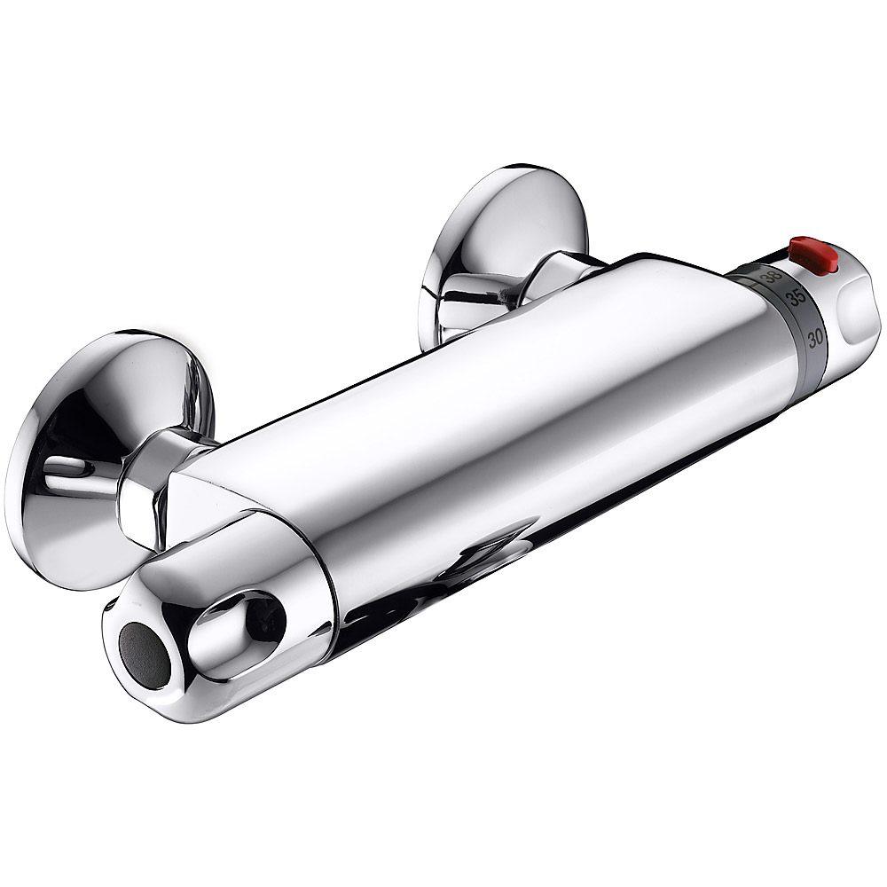 Dusche Unterputz Oder Aufputz : Brause- und Dusch-Thermostate f?r Auf- und Unterputzmontage – MEGABAD