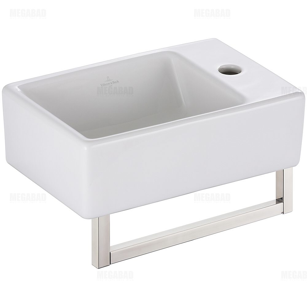 villeroy boch edition memento handwaschbecken 40 x 26 cm. Black Bedroom Furniture Sets. Home Design Ideas